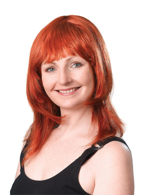 Ginger Layered Female Wig
