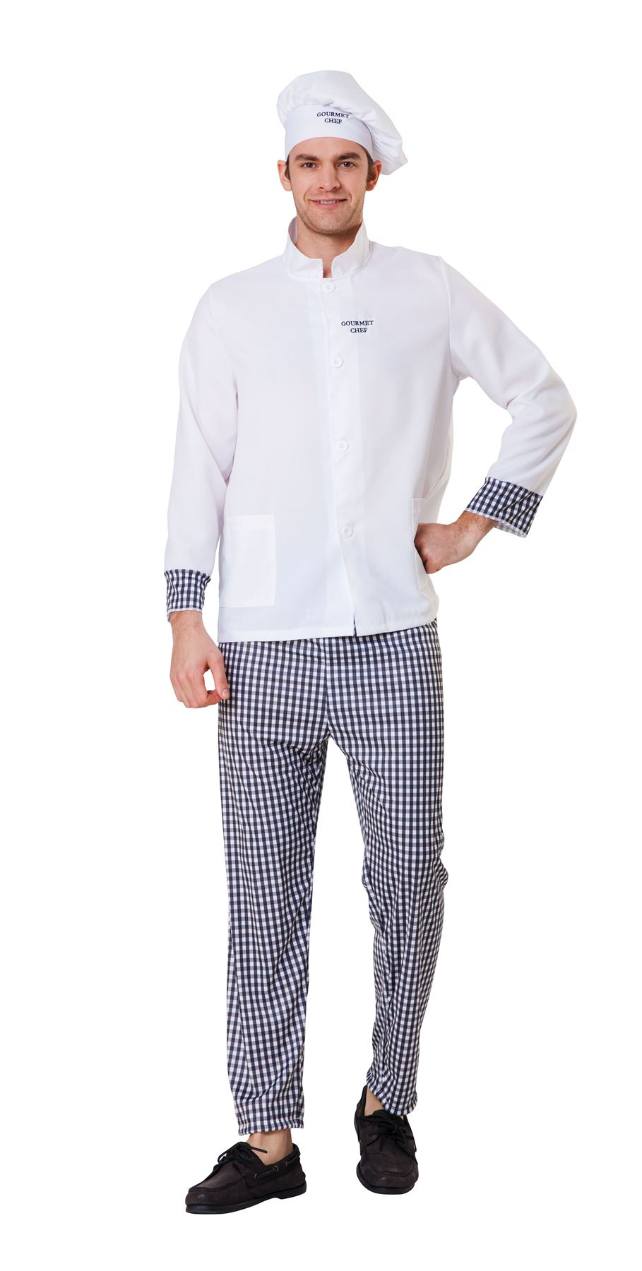 Men's Master Chef Fancy Dress Costume