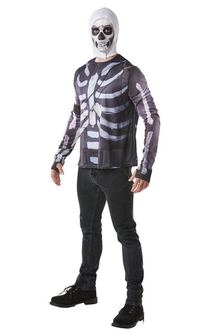 Fortnite Skull Trooper Costume Top Men's