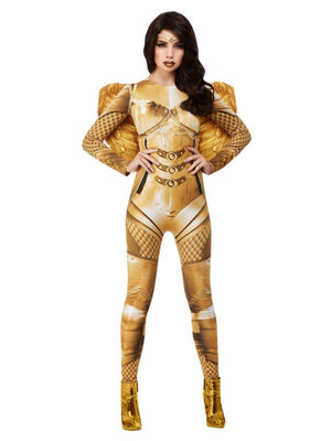 Fever Guardian Angel Costume, Gold
