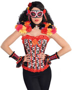 Womens Day of the Dead Epaulettess & Collar