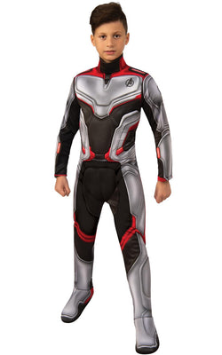 Team Suit Engame Avengers 4Marvel DC comics Fancy Dress Boys Costume