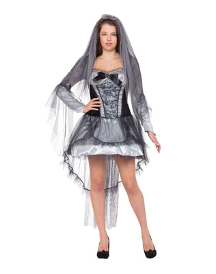 Ladies Dark Bride Costume