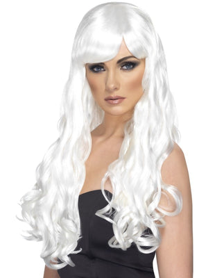 Desire Fancy Dress Wig White