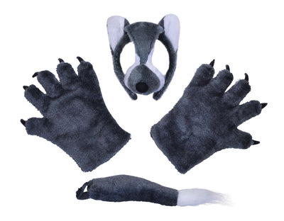 Wolf Set (Mask, Tail + Paws)