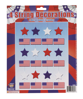 USA 4 String Decoration