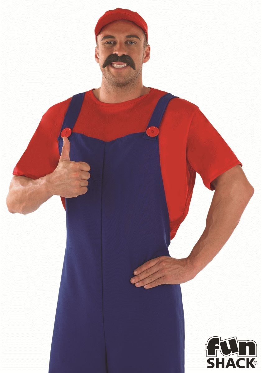Red Plumbers Mate Fancy Dress Costume