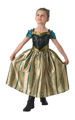 Anna Frozen Coronation Costume