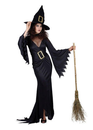 Adult Sexy Witch Costume Black