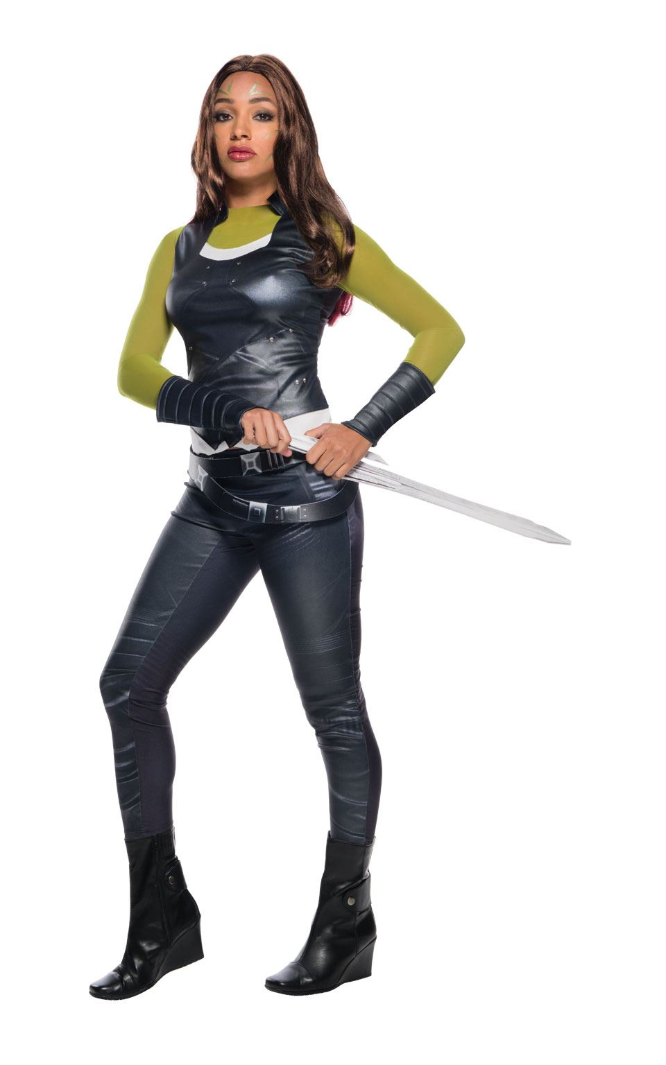 Gamora Guardian of the Galaxy Women's Fancy Dress Costume