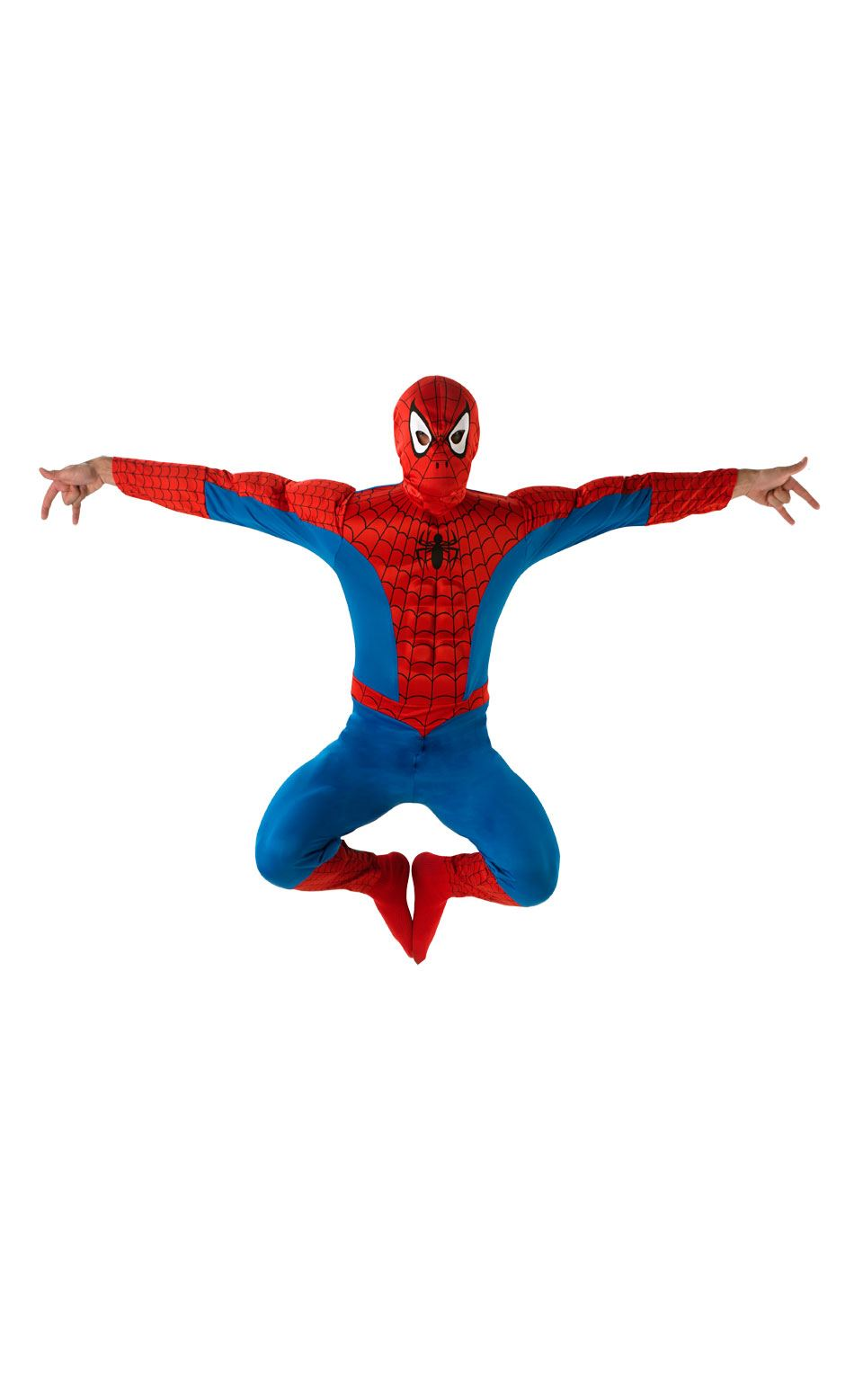 Spiderman Deluxe Men's Fancy Dress Costume