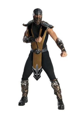 Mortal Kombat Scorpion Fancy Dress Costume