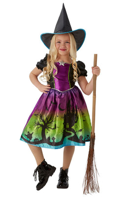 Ombre Witch Girls Costume