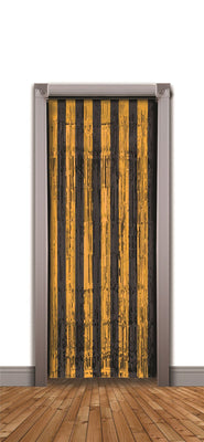 Doorway Curtain Orange/Blk (240x94cm)