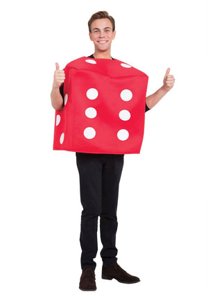 Poker Dice Costume Red