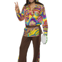 Psychedelic Hippie Fancy Dress Costume