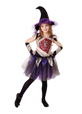 Zombie Witch Girl's Costume