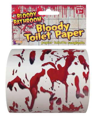 Toilet Paper Bloody