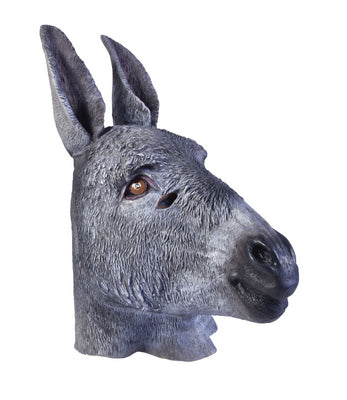 Adult Rubber Donkey Mask
