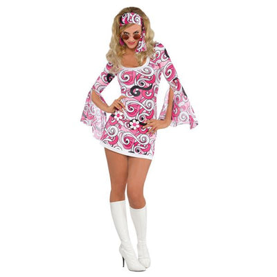 Ivana 60s Go Go Fancy Dress Costume