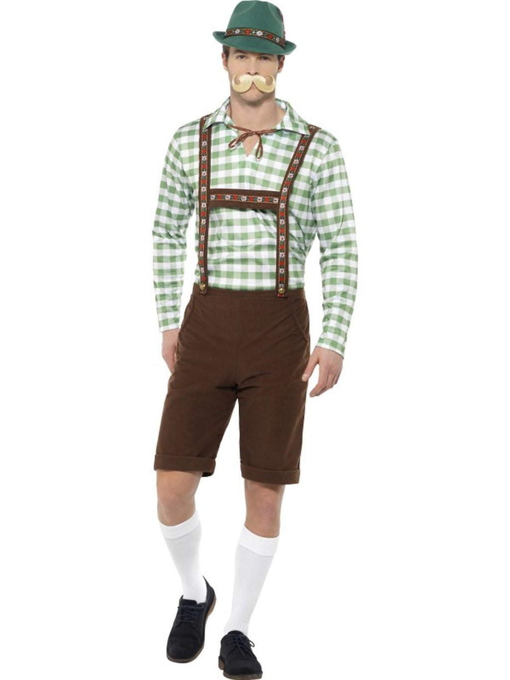 Alpine Bavarian Men's Fancy Dress Costume