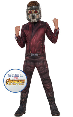 Star Lord Engame Avengers 4Marvel DC comics Fancy Dress Boys Costume