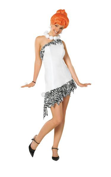 Deluxe Wilma Flintstone Fancy Dress Costume