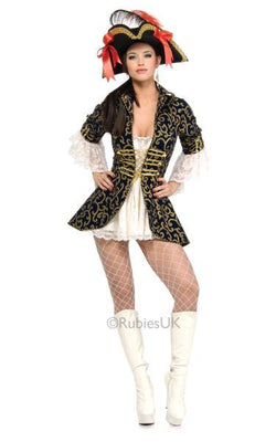 Pirate Queen Fancy Dress Costume
