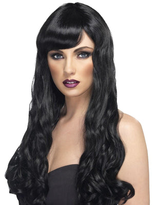 Desire Fancy Dress Wig Black