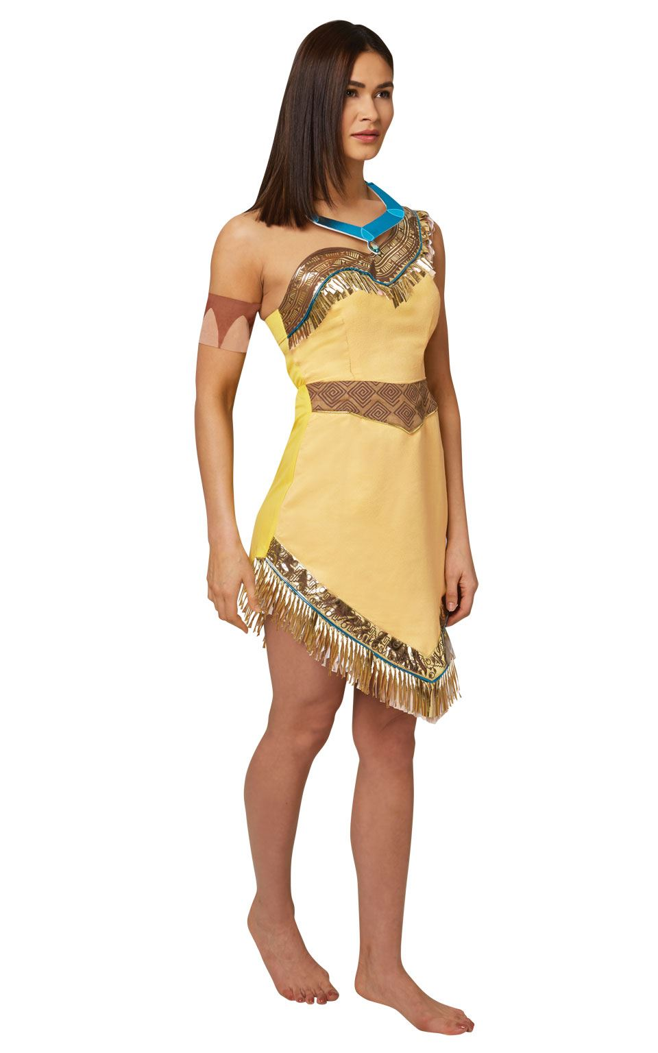 Women's Pocahontas Fancy Dress Costume