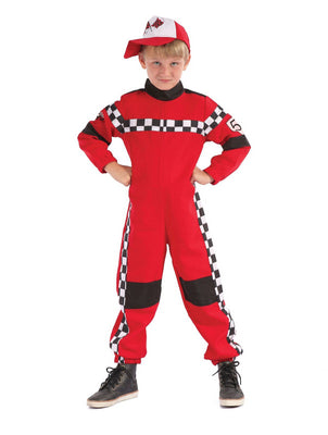 Racing Driver Boy's Costume