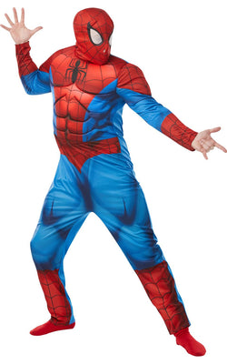 Spiderman Deluxe Mens Costume