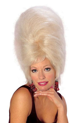 BeeHive Fancy Dress Wig Blonde