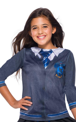 Ravenclaw Hatty Potter Costume School Book Week Girls Fancy Dress Top