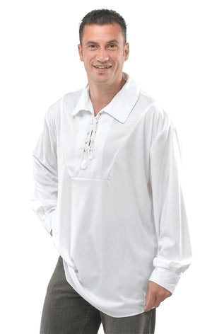 Pirate Shirt White Male