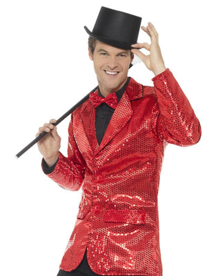 Sequin Jacket Men's Fancy Dress Costume