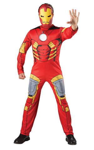 Ironman Marvel Deluxe Fancy Dress Costume