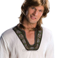 70s Guy Fancy Dress Wig - Blonde