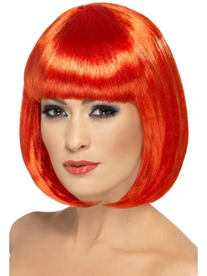 Partyrama Wig, 12 inch Red