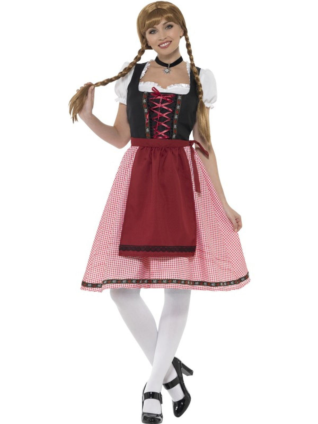 Bavarian Tavern Maid Women's Fancy Dress Costume