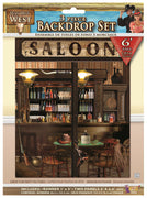 Way Out West- Back Drop Set (3 pc/6ft Tall)