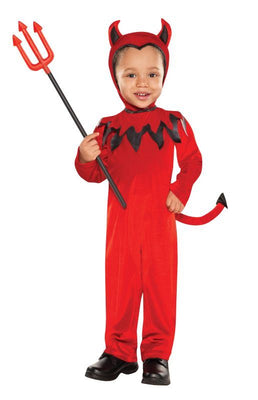 Boys Toddler Devil Fancy Dress Costume