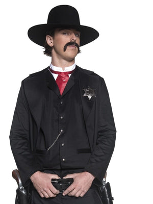 Western Sheriff Fancy Dress Costume
