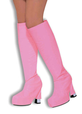 Ladies Pink Go Go Boot covers