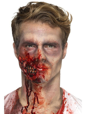 Smiffys Make-Up FX, Latex Zombie Jaw Prosthetic