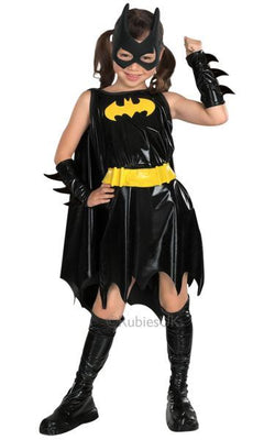 Childs Batgirl Fancy Dress Costume