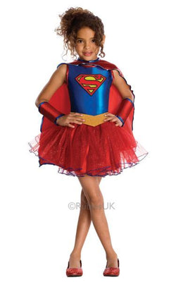 Girls Supergirl Tutu Dress