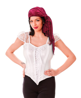 Pirate Bandana. Velvet, Female