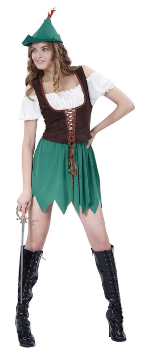 Robin Hood Ladies Costume