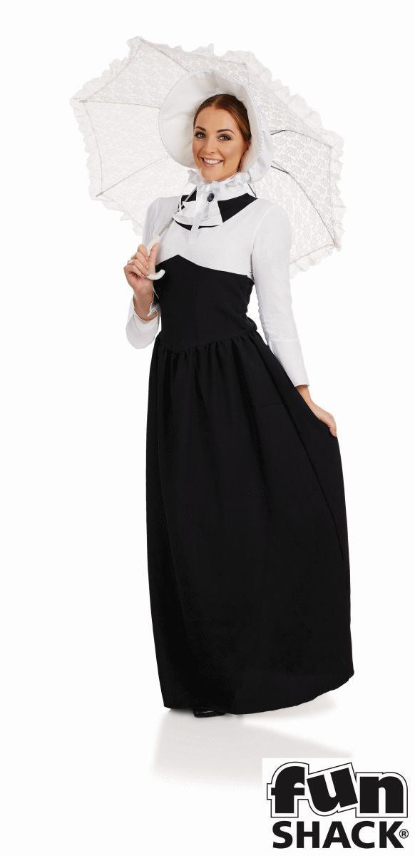Victorian Woman Fancy Dress Costume